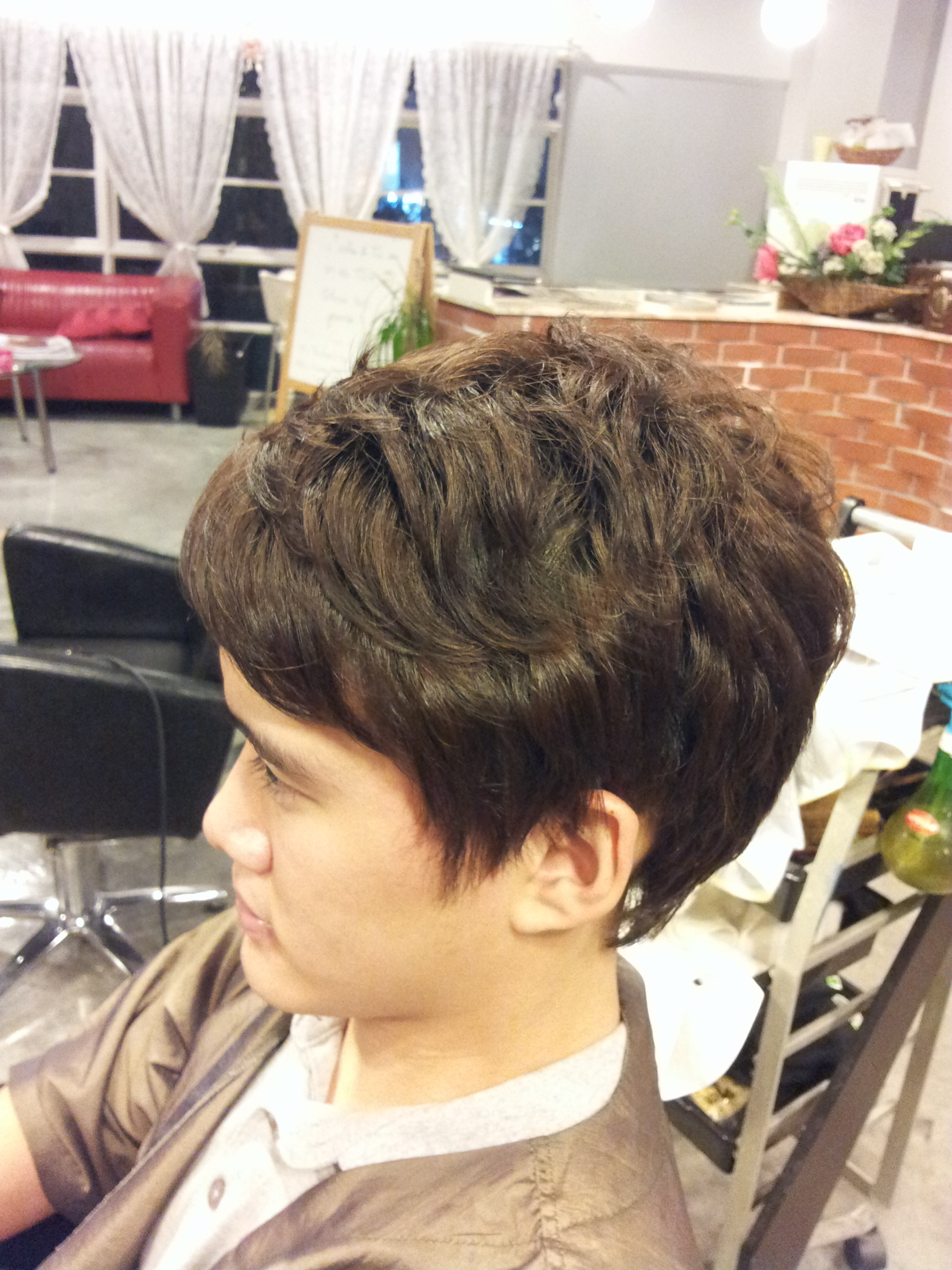 Hair Salon Perm : Man Perm Salon HAIRSTYLE GALLERY