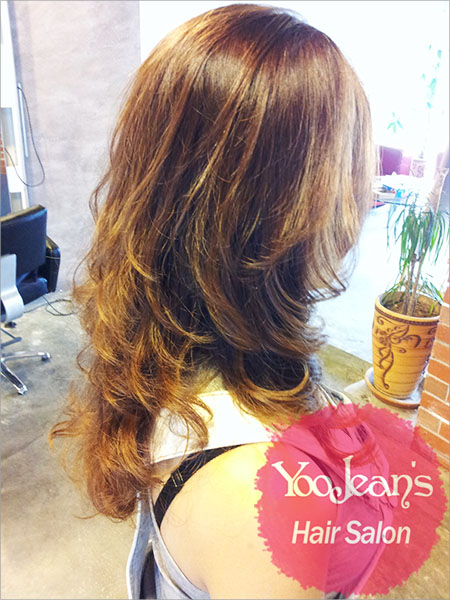 Iron Perm + Volume Rebonding >>Style with full of volume and elasticity