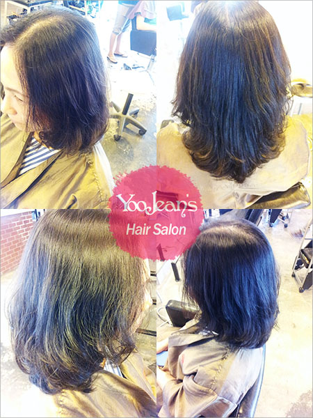 Korean Hair Style :: Digital Perm >> A style of natural curls with luxuriance added