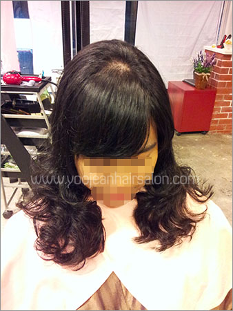 Lovely digital perm >> for curly & messy hair