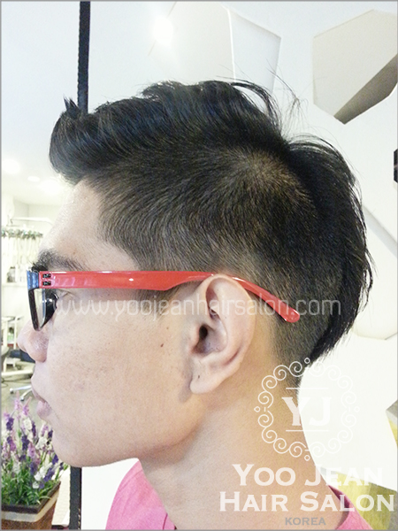 Two Block Mohican(Mohawk) hairstyle