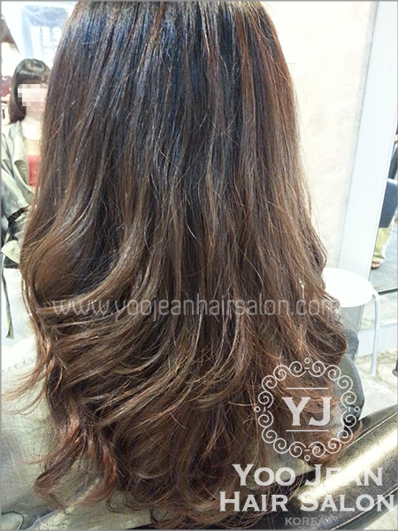 Hair Salon Perm : Perm  Lovely Perm ? Yoo Jeans Hair Salon  Korean Hair Salon ...
