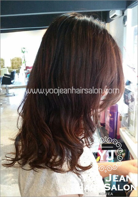 Hair Salon Perm : Perm >> feminine perm ? Yoo Jeans Hair Salon  Korean Hair Salon ...