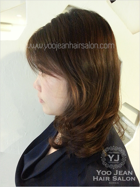 Hair Salon Perm : korean perm hairstyle ? Yoo Jeans Hair Salon  Korean Hair Salon ...