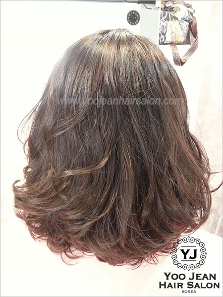 Hair Salon Perm : Perm >> Medium Glam Perm ? Yoo Jeans Hair Salon  Korean Hair ...