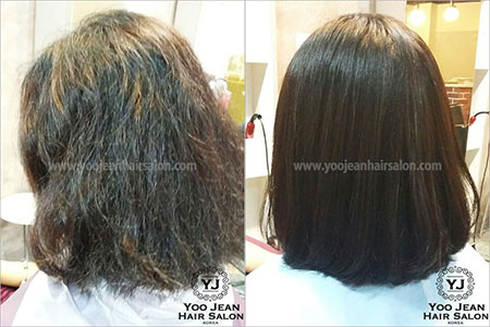 Volume Rebonding >> for Very Curly & Messy Hair