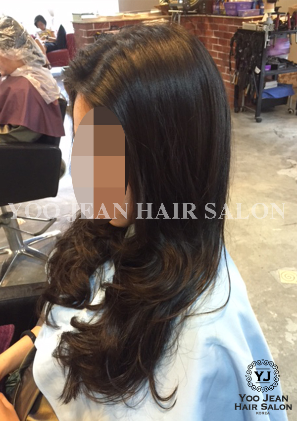 Korean Rebonding + Iron Perm 2016