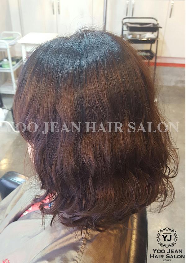 Medium Hair Length Digital Perm 2016
