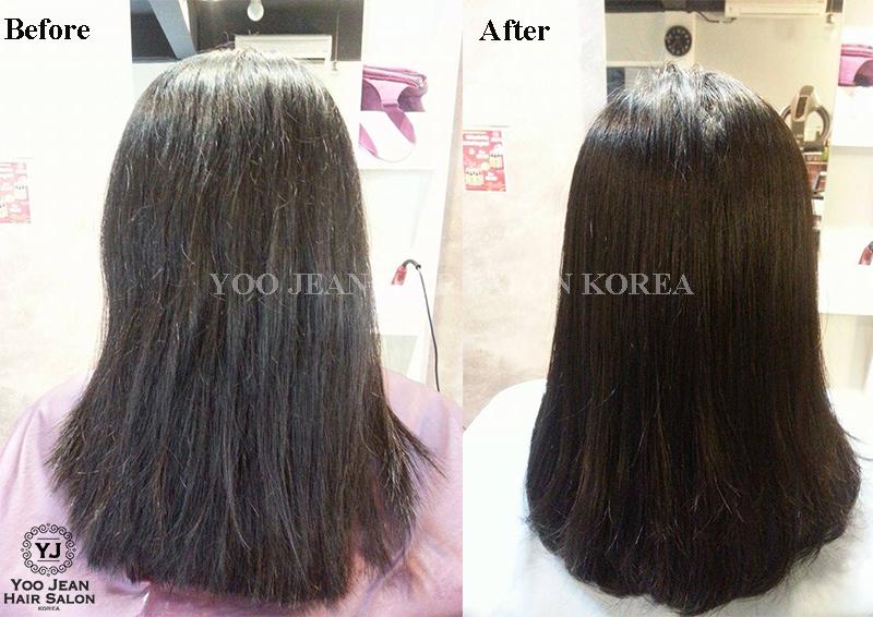 Volume Rebonding For Frizzy Hair