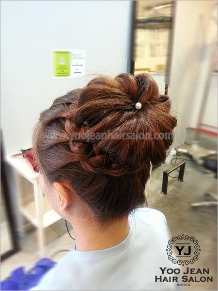 Braid Updo Style