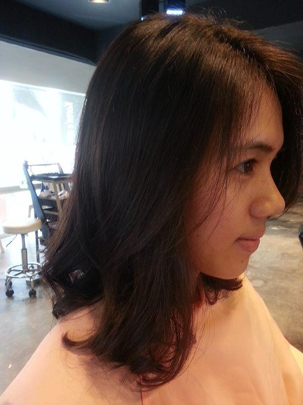 Digital S - Curl Perm for Medium Hair