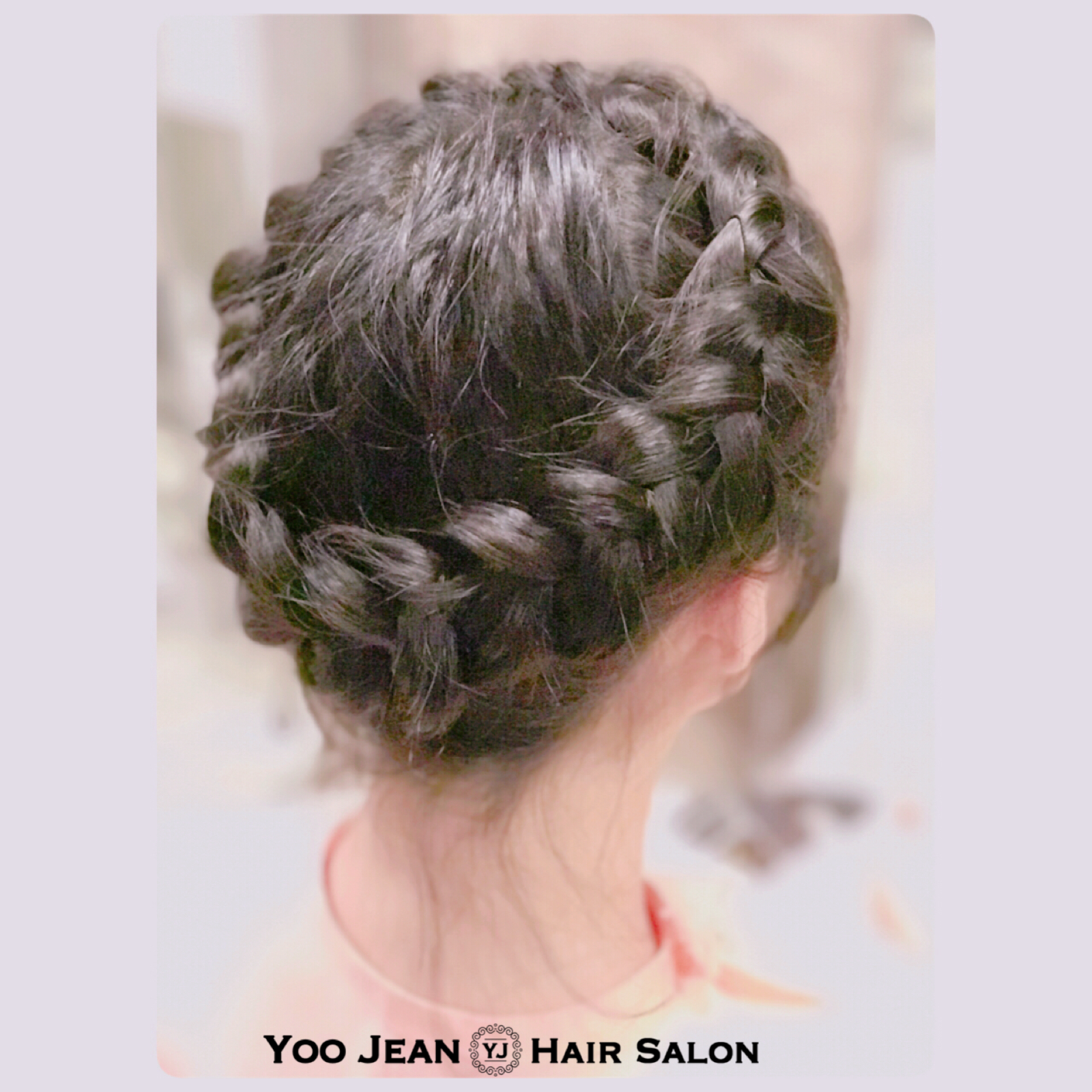 Crown Braid Hair