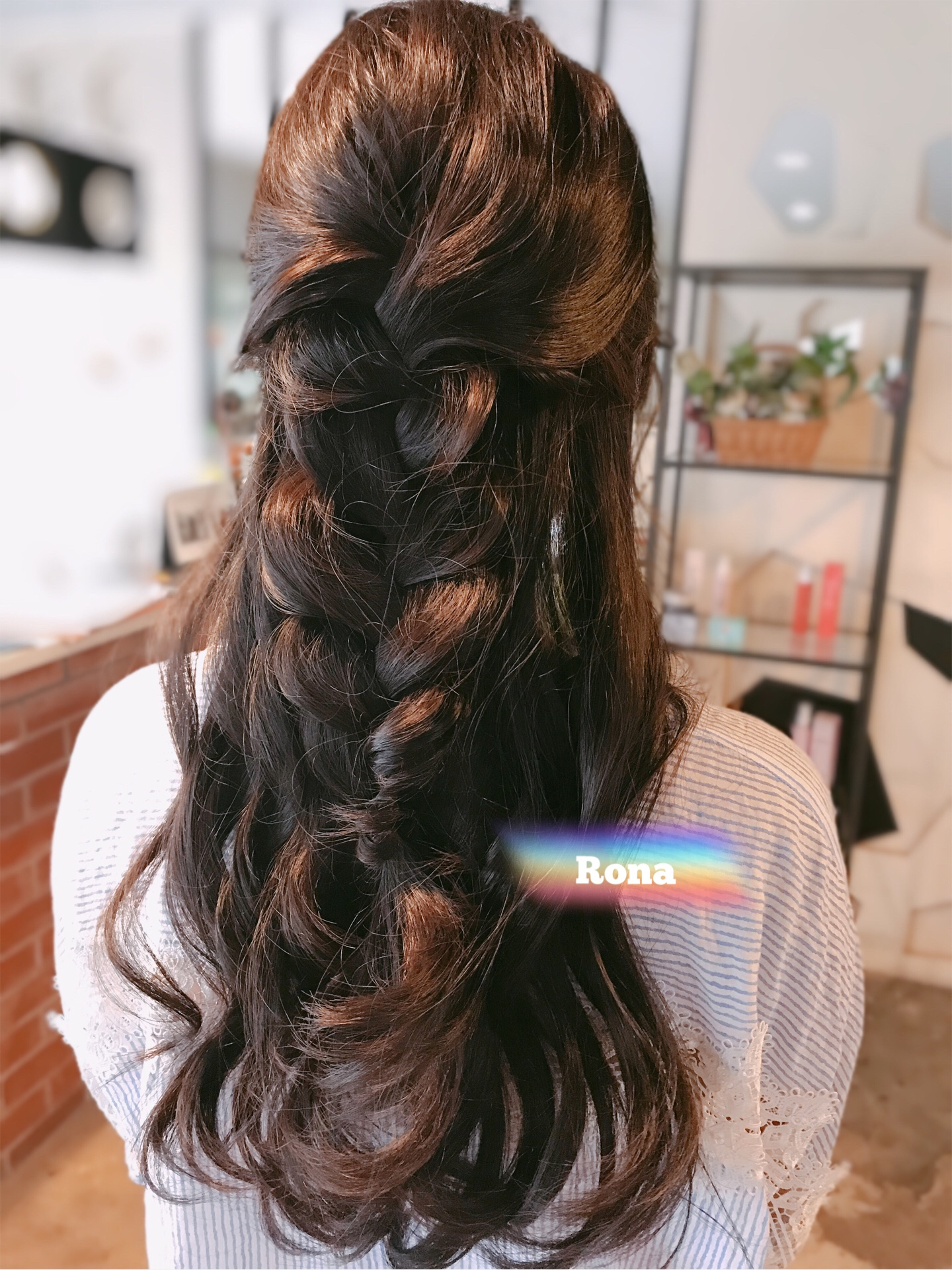 Styling | Half braided style